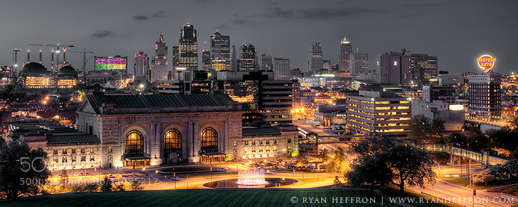 Photograph Kansas City Skyline by Ryan Heffron on 500px