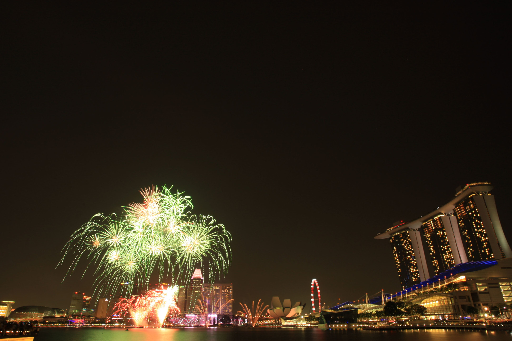 Photograph NDP 2012 Preview Fireworks! by GengHui Tan on 500px
