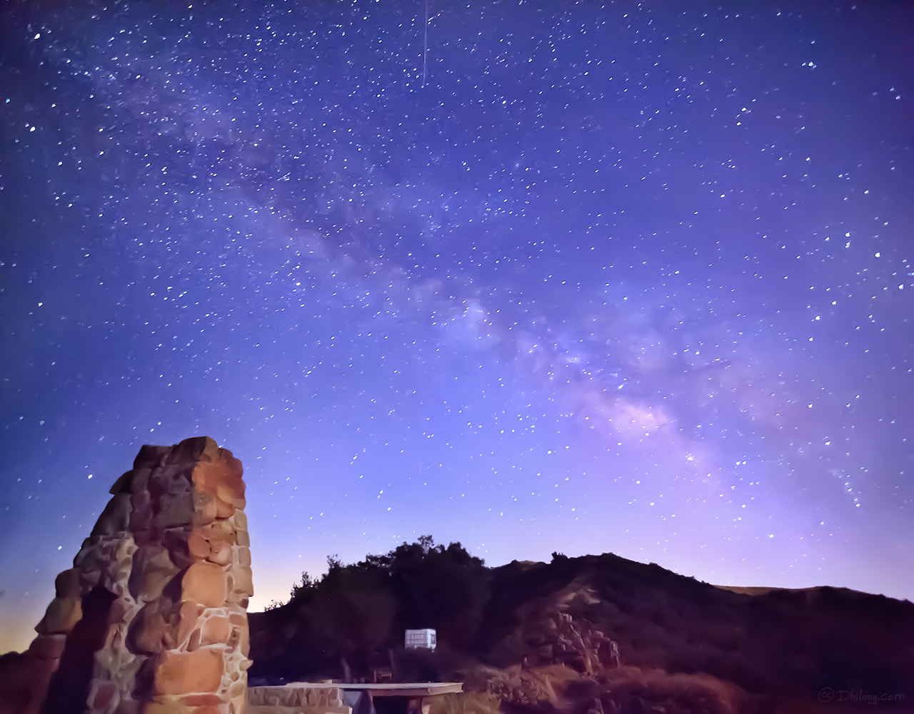 Photograph Knapp's Castle with the Milky Way by Dhilung Kirat on 500px