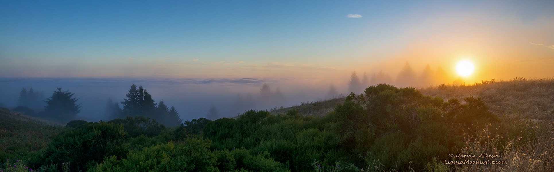 Photograph Sun Glow - Mt. Tamalpais Panorama by Darvin Atkeson on 500px