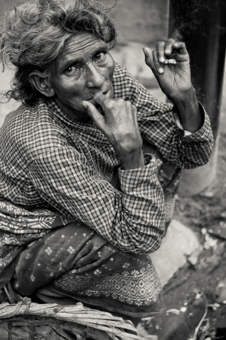 Photograph Smoking by Mitchell Brown on 500px
