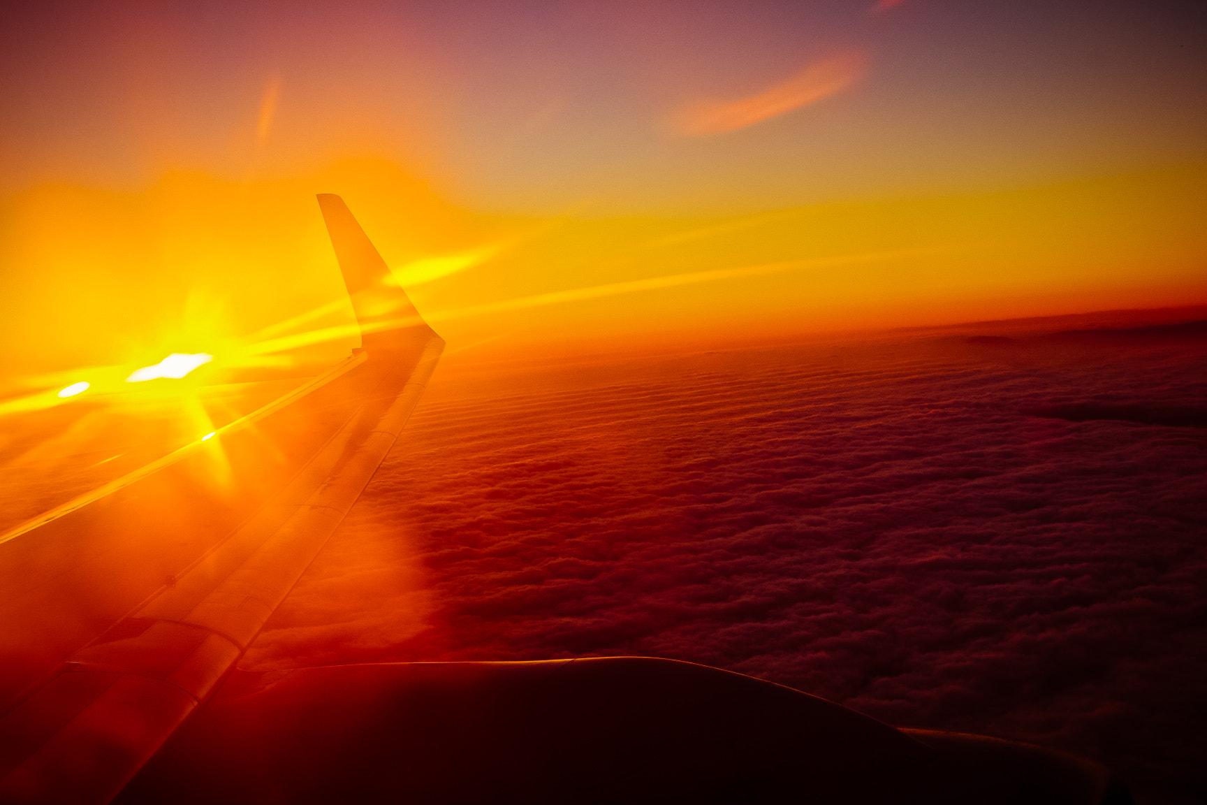 Photograph Flying With The Sunset by Jherell Rabanal on 500px