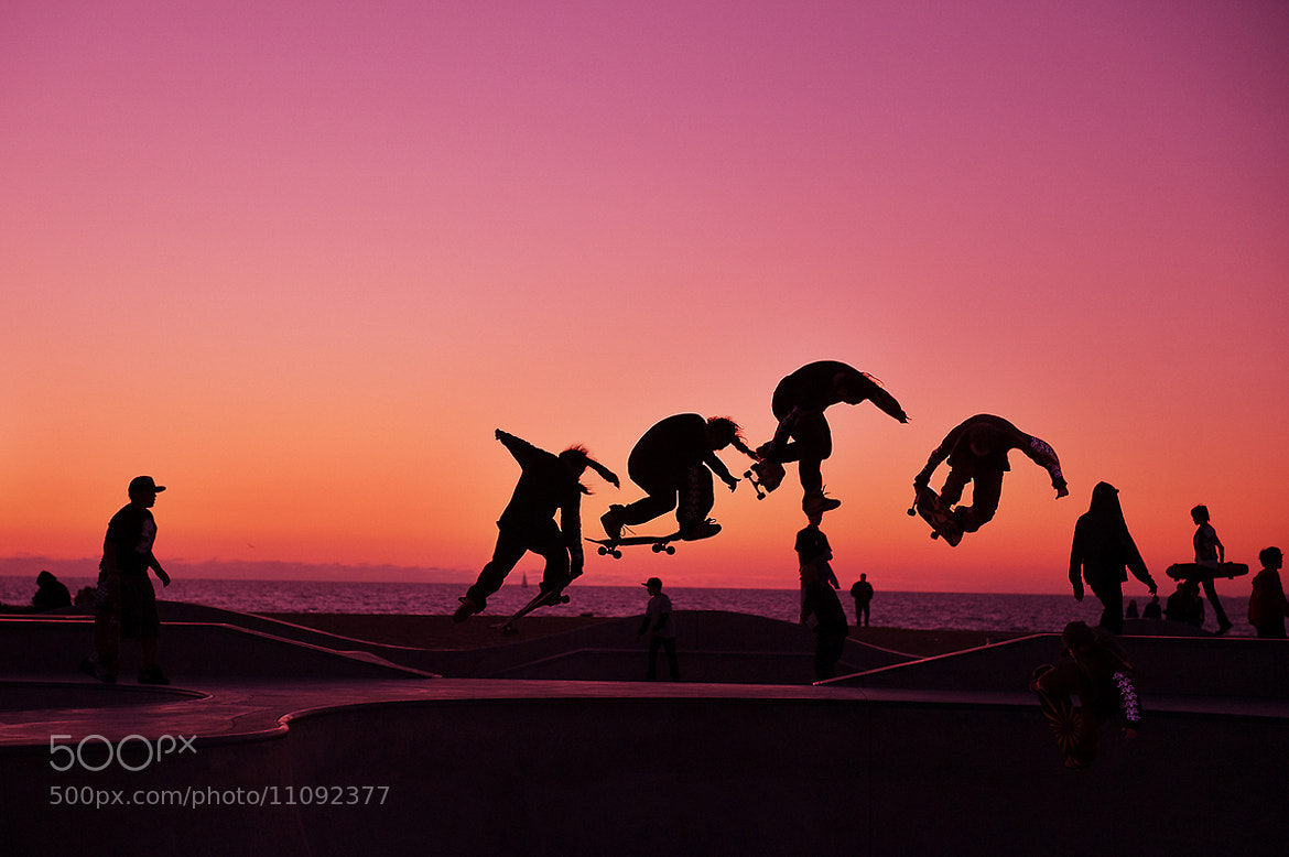Photograph Flying Sk8boarder by Shawn Park on 500px