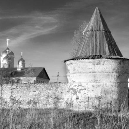 The monastery walls