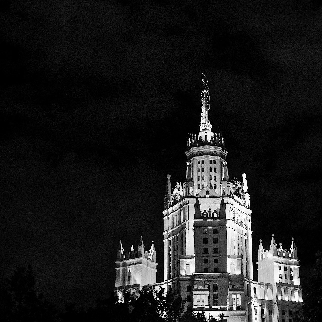 Photograph moscow nights #1 - 7 sisters by Jerzy Kott on 500px
