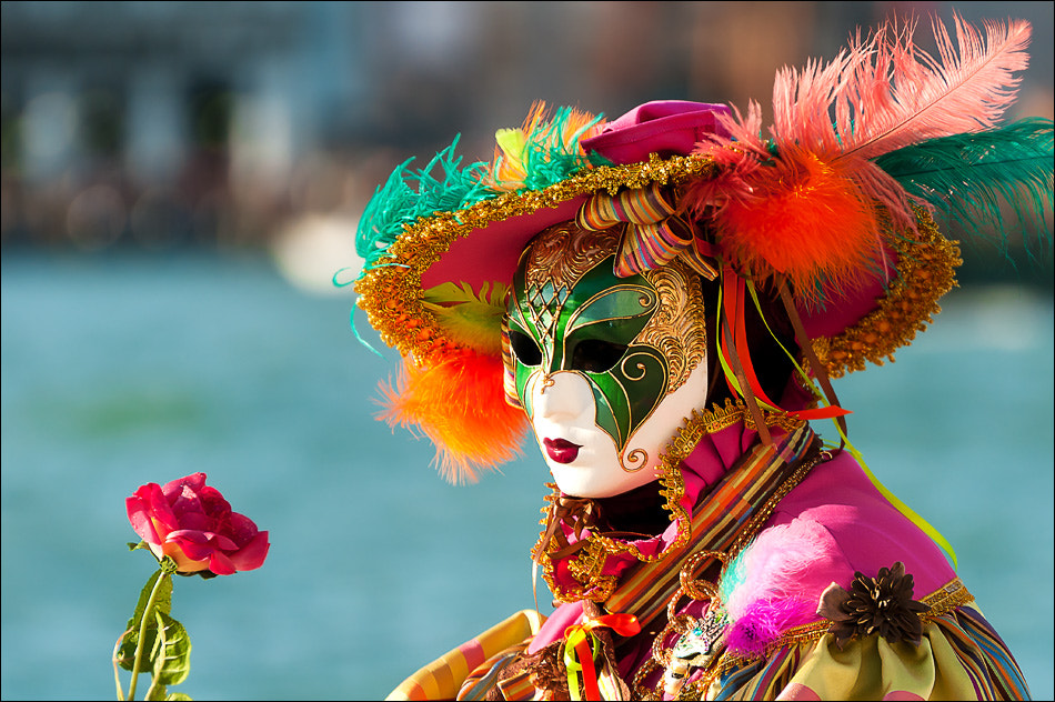 Photograph Colourful Mask by T. Reflexion on 500px