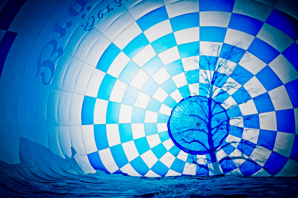 Photograph Blue Balloon by T. Reflexion on 500px