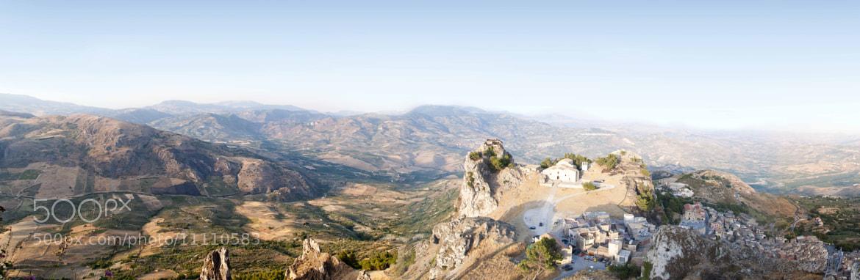 Photograph Caltabellotta panoramic by Francesco Zappalà on 500px