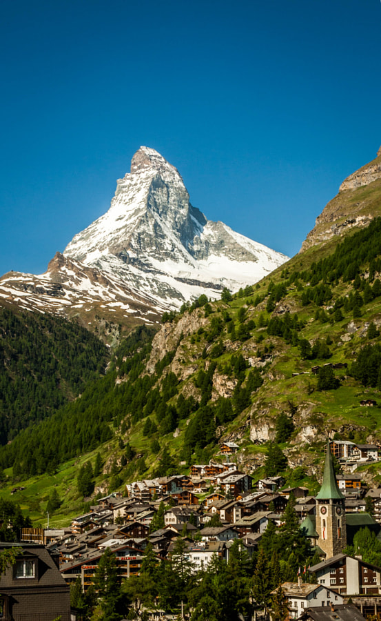 Photograph Matterhorn & Zermatt by Paweł M on 500px
