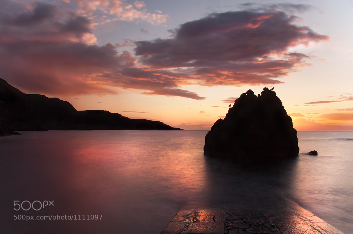 Photograph Sunset at the Rock by Melanie Branagan on 500px