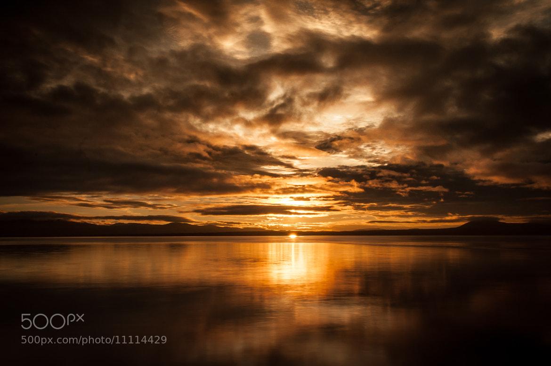 Photograph Golden sunset by Tor Ivan Boine on 500px