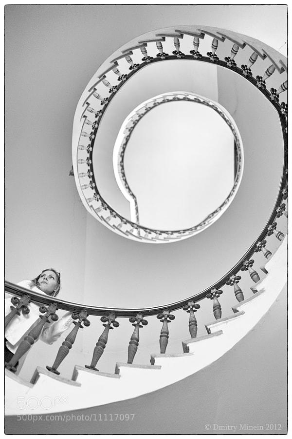 Escher staircase by Dmitry Minein (Lance) on 500px.com