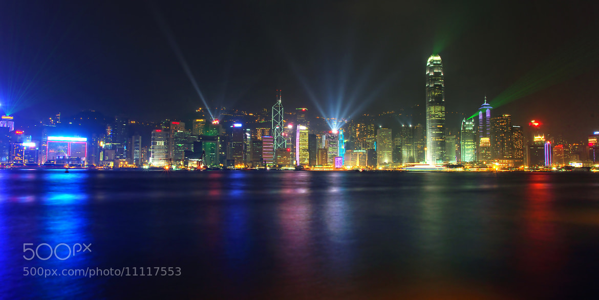 Photograph Hong Kong By Night... by Ls Trung (Roger Nguyen) on 500px
