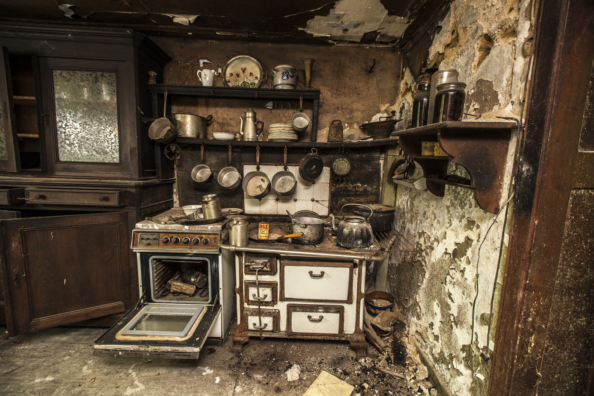 Abandoned Kitchen By Urbexclown Photo 11117903 500px
