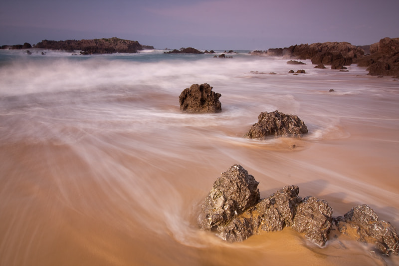 Photograph Caressed by the waves by Javier Sánchez on 500px