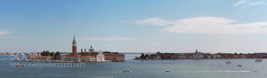 Venice Grand Canal panorama