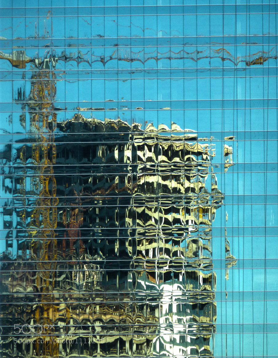 Photograph Construction Reflections by Gabriel Masliah on 500px
