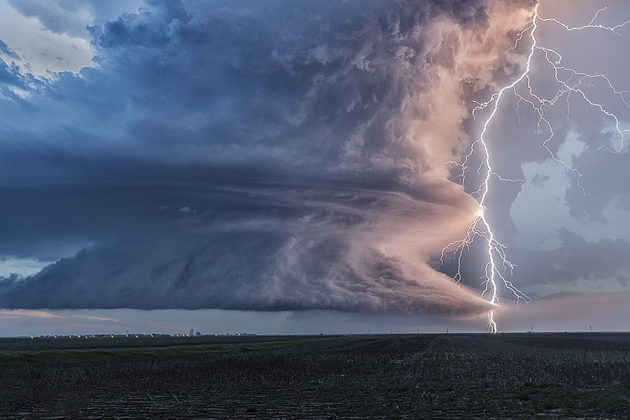 Lightning Lit Danger by Roger Hill on 500px.com