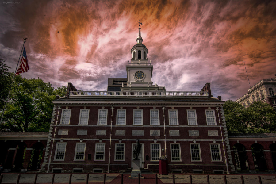 Independence Hall by Myles Bluesun on 500px.com