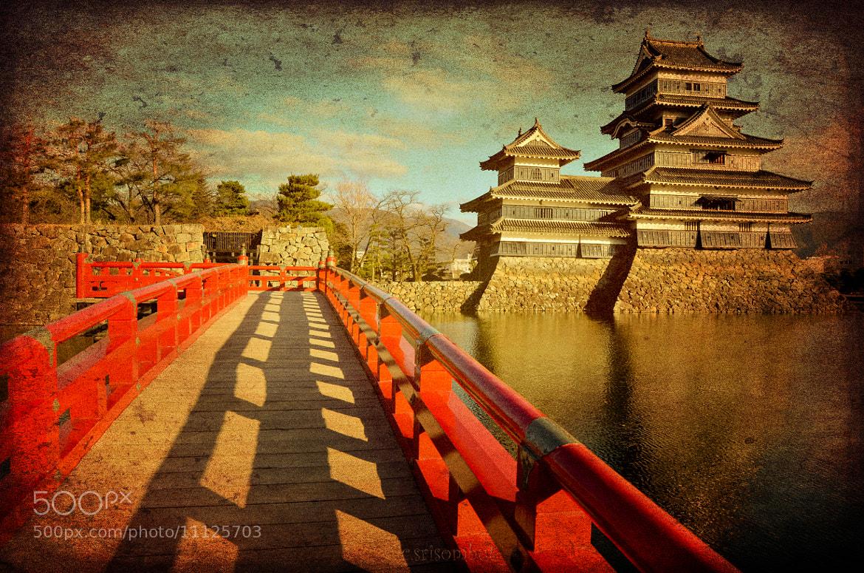 Photograph Matsumoto castle, Vintage style by Chartchai Srisombut on 500px