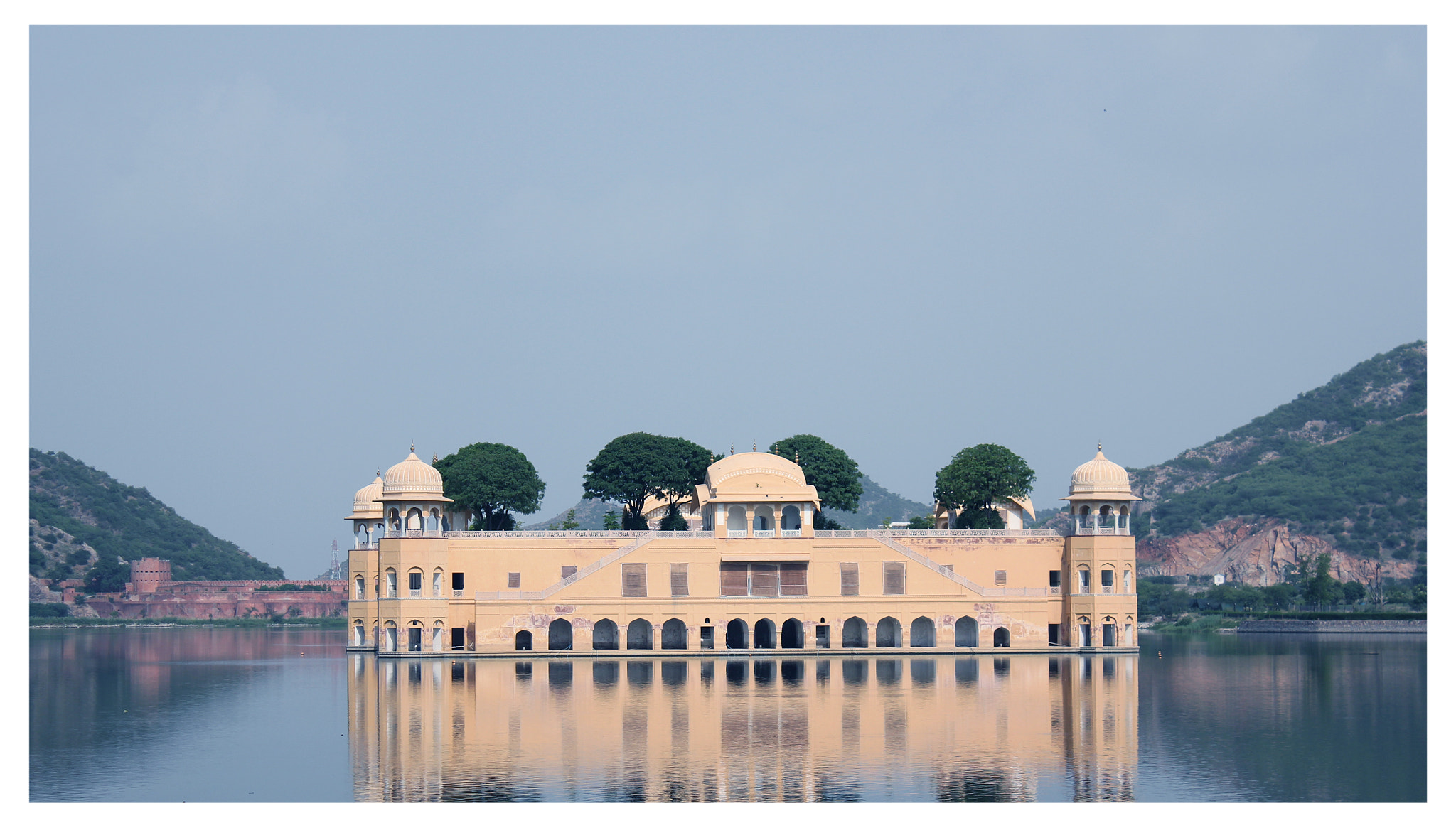 Photograph Jal Mahal 2nd Perspective by Yashovardhan Sodhani on 500px