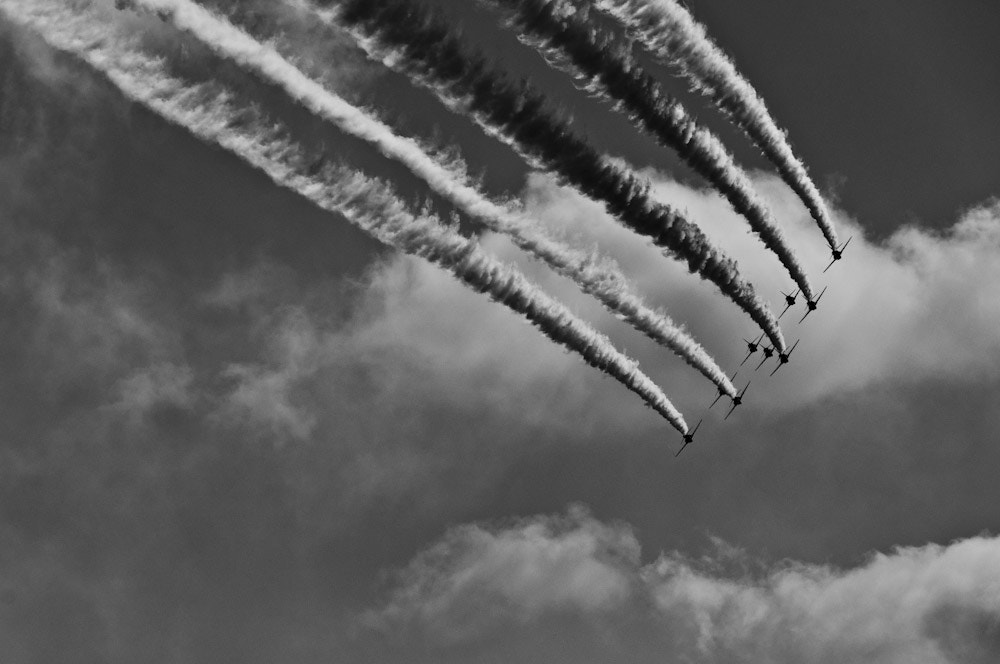 Photograph Red Arrows by Keri Beal on 500px