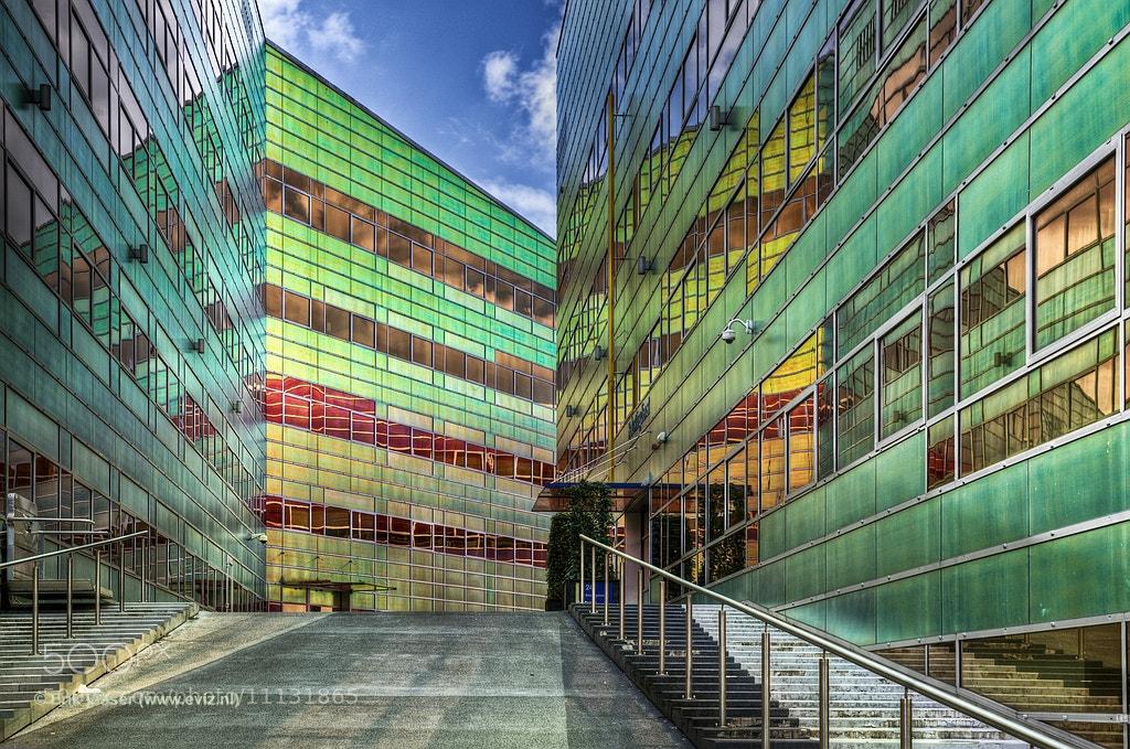 Photograph UWV Building Almere III by Erik Visser on 500px