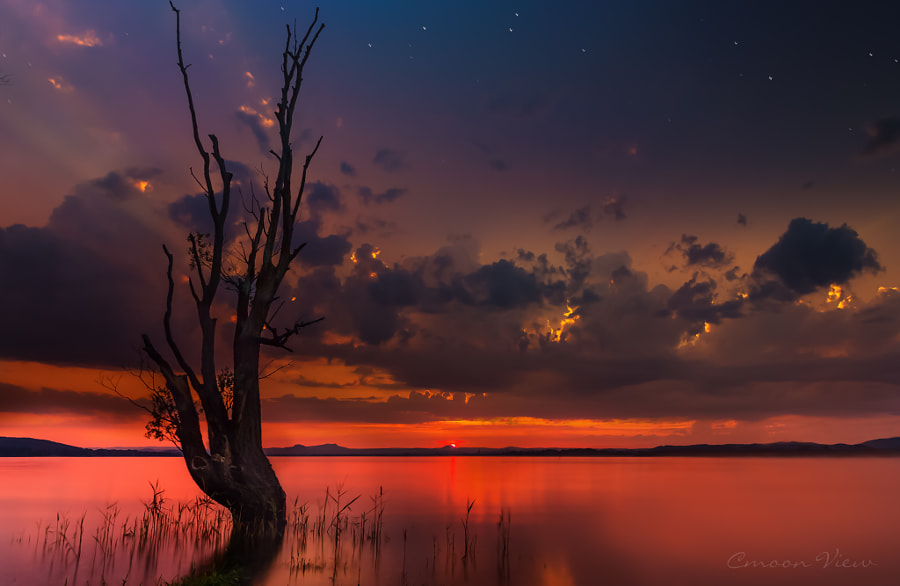 burning sky by cmoon view on 500px