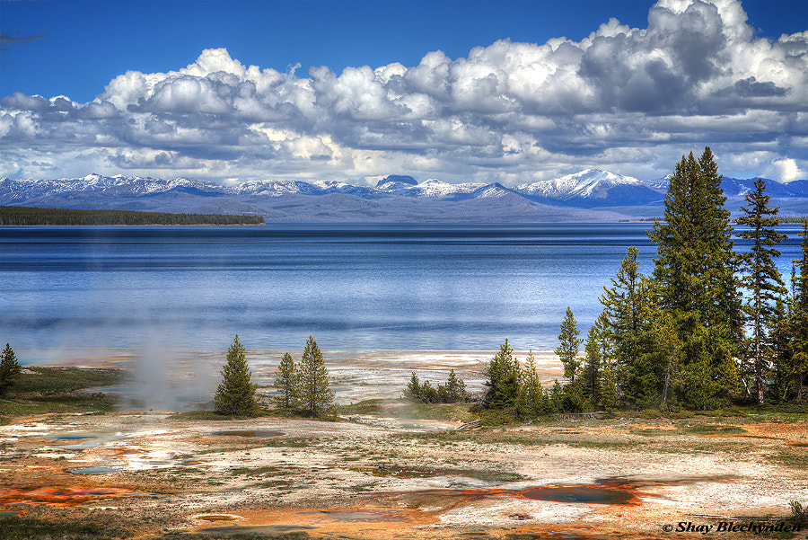 Photograph Yellowstone Lake Thermals by Shay Blechynden on 500px