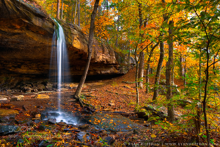 Photograph Autumn Falls by Ryan Heffron on 500px