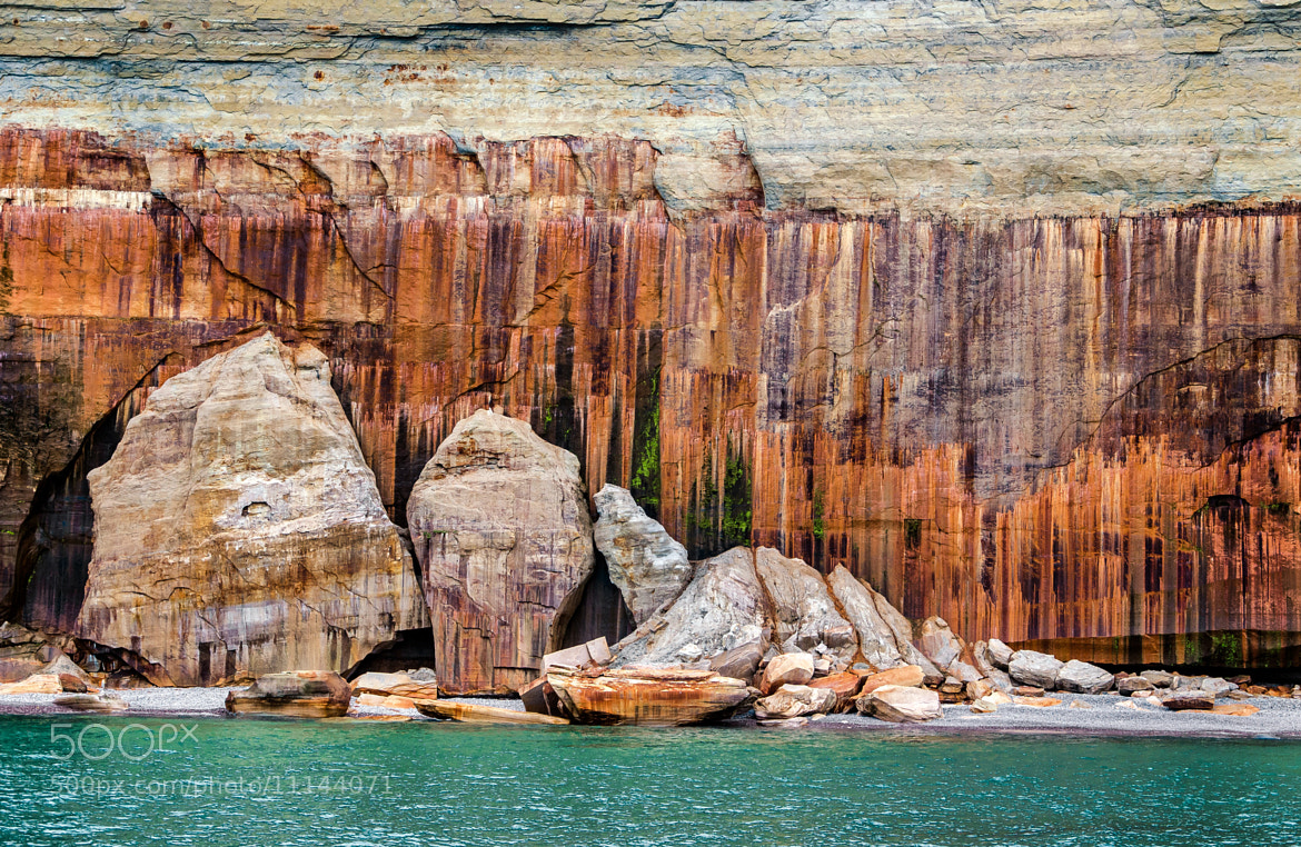 Photograph Pictured Rocks by Stevan Tontich on 500px