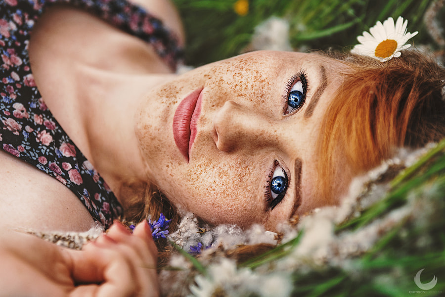 Summer Freckles by Crimson Photography on 500px.com