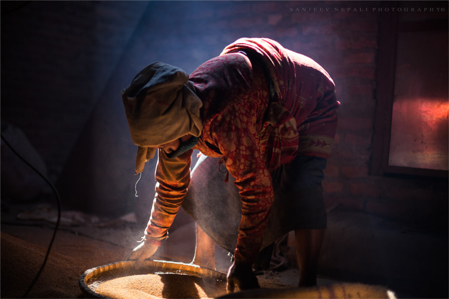 Photograph working hands by Sanjeev Nepali  on 500px