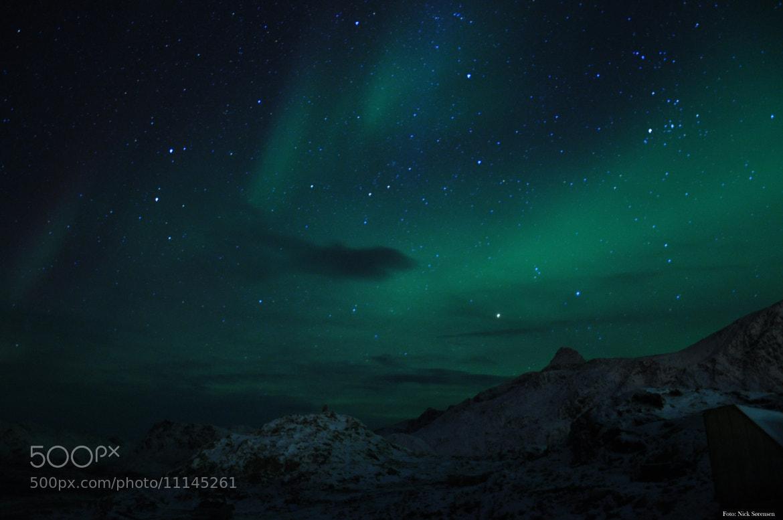 Photograph aurora by Nick Sørensen on 500px