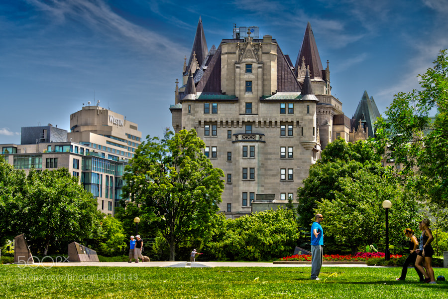 Photograph Workout in the Park by Scott Brodersen on 500px