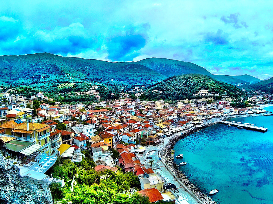 Photograph Parga panorama view by Alexandros Dedoukos on 500px