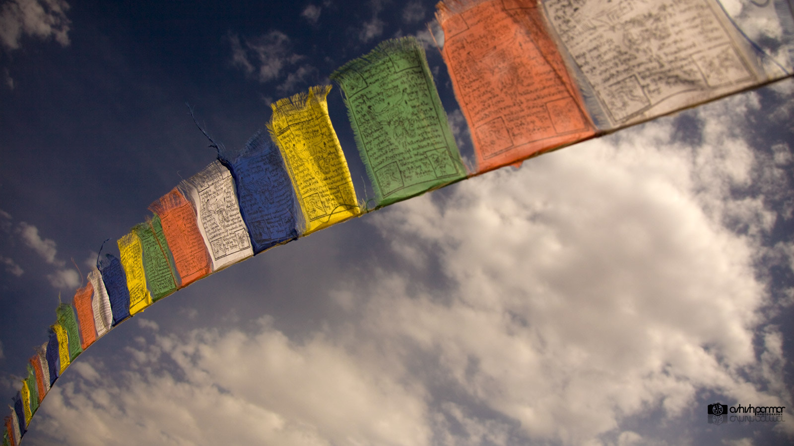 Photograph Flags of Wisdom & Peace by Ashish  Parmar on 500px