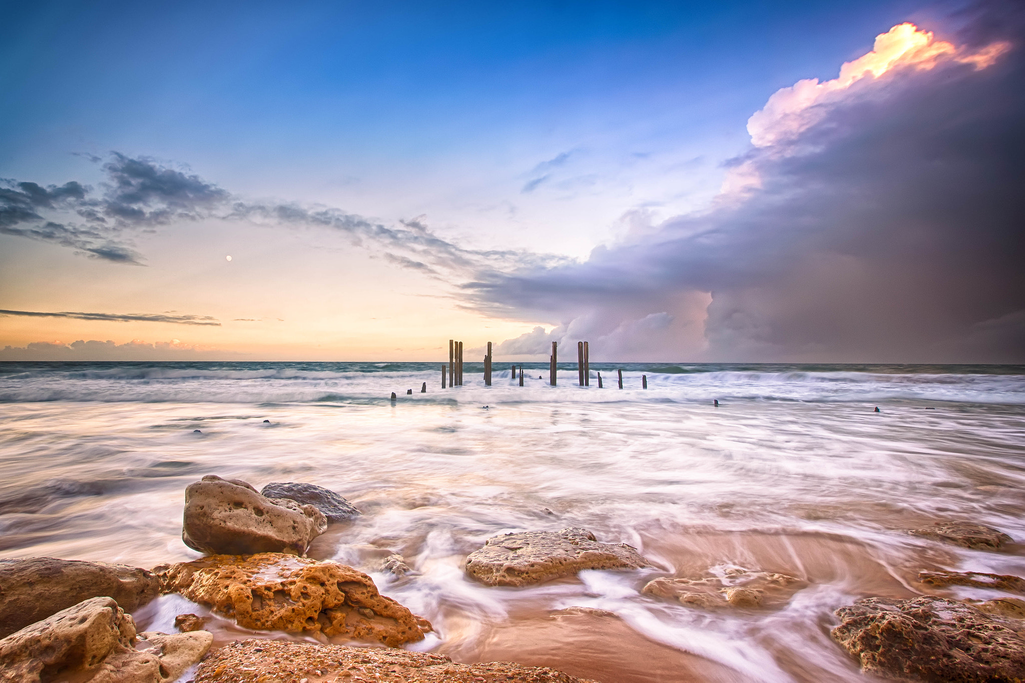 Photograph Port Willunga Sunrise with Cloud by James PhotoGraphy on 500px