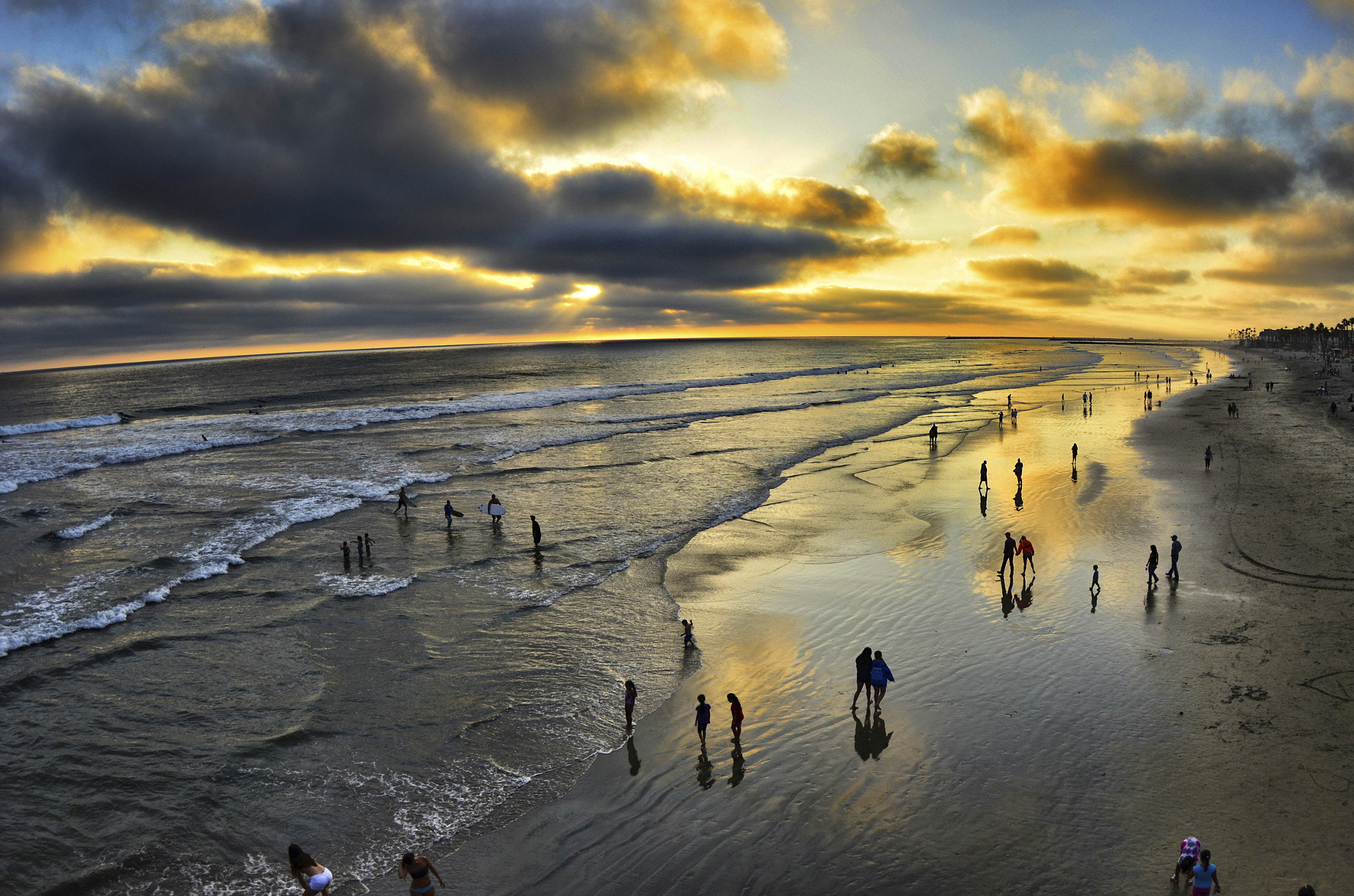 Photograph Low Tide in Oceanside - August 5, 2012 by Rich Cruse on 500px