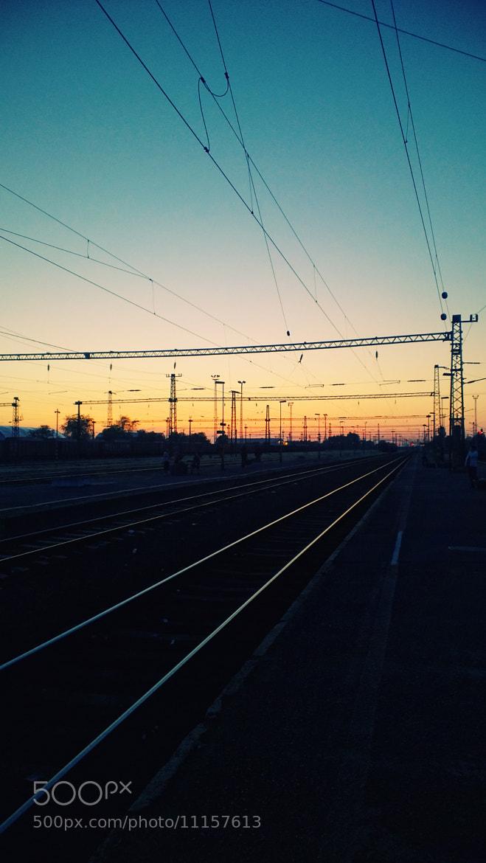 Photograph Train station by Dávid Detkó on 500px