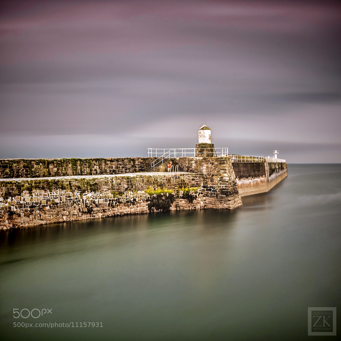 Photograph Pittenweem Harbour Wall by Zain Kapasi on 500px