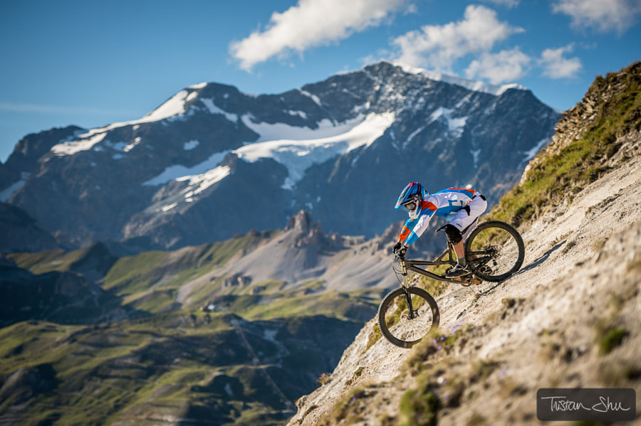 Steep riding with Nick Gowan by Tristan Shu on 500px.com