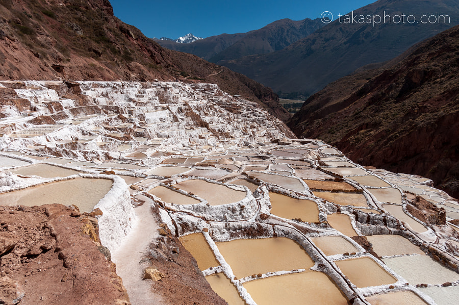 The Salt-Evaporation Ponds of Maras (Las Salineras de Maras), Ma by Taka Taira on 500px.com