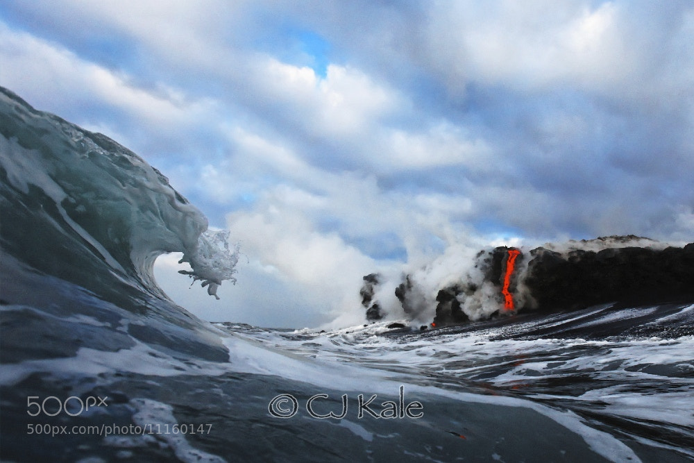 Photograph Lava down the tube Real!!! by Cj Kale on 500px