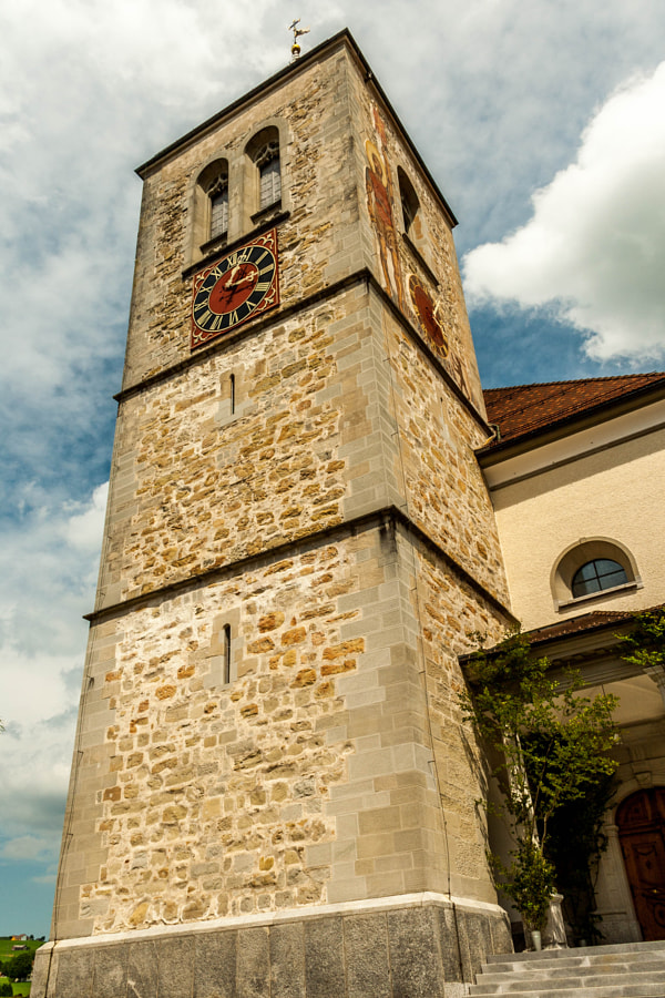 Photograph Appenzell church tower by Paweł M on 500px