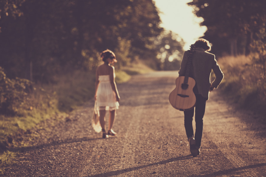 A man with a girl and a guitar has the world. by Photocillin ! on 500px.com