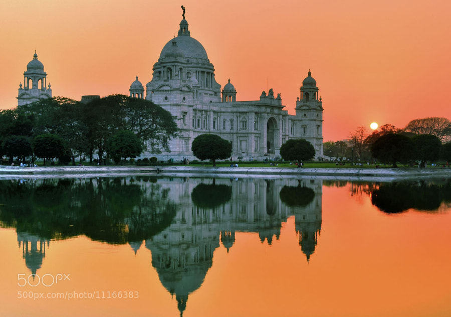 Photograph The Setting Sun@Victoria!! by Palash Kundu on 500px