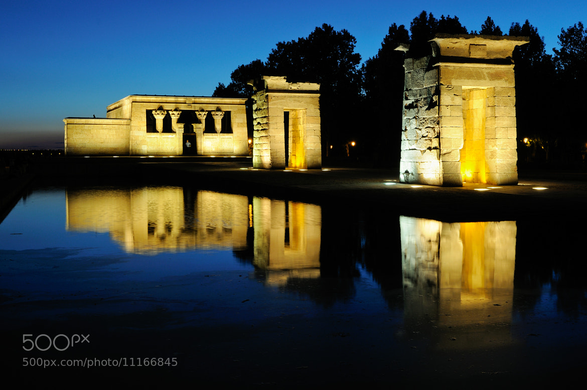 Photograph Temple of Debod, Madrid, Spain by Javier Sánchez on 500px