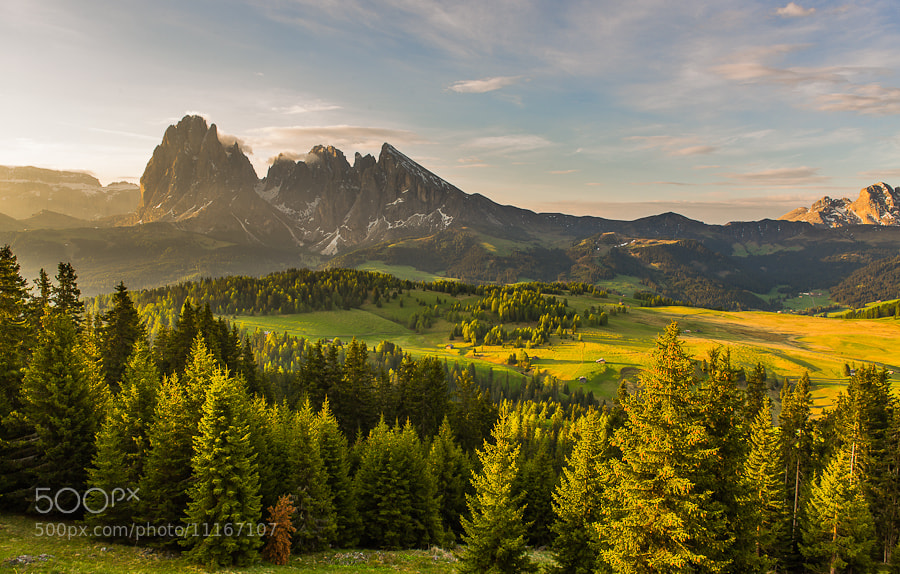 Photograph Mountain View by Hans Kruse on 500px