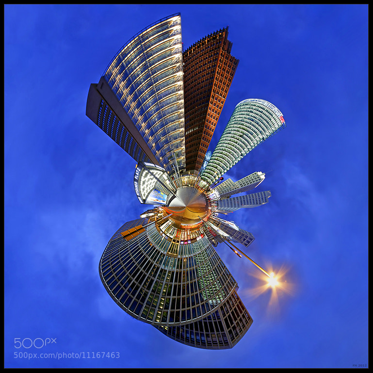 Photograph planet Berlin by Frank Herrmann on 500px
